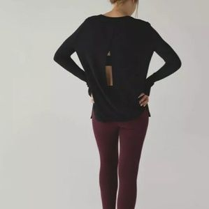 Lululemon bring it backbend sweater size 4